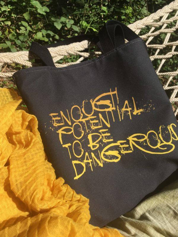 Enough Potential To Be Dangerous Tote Bag