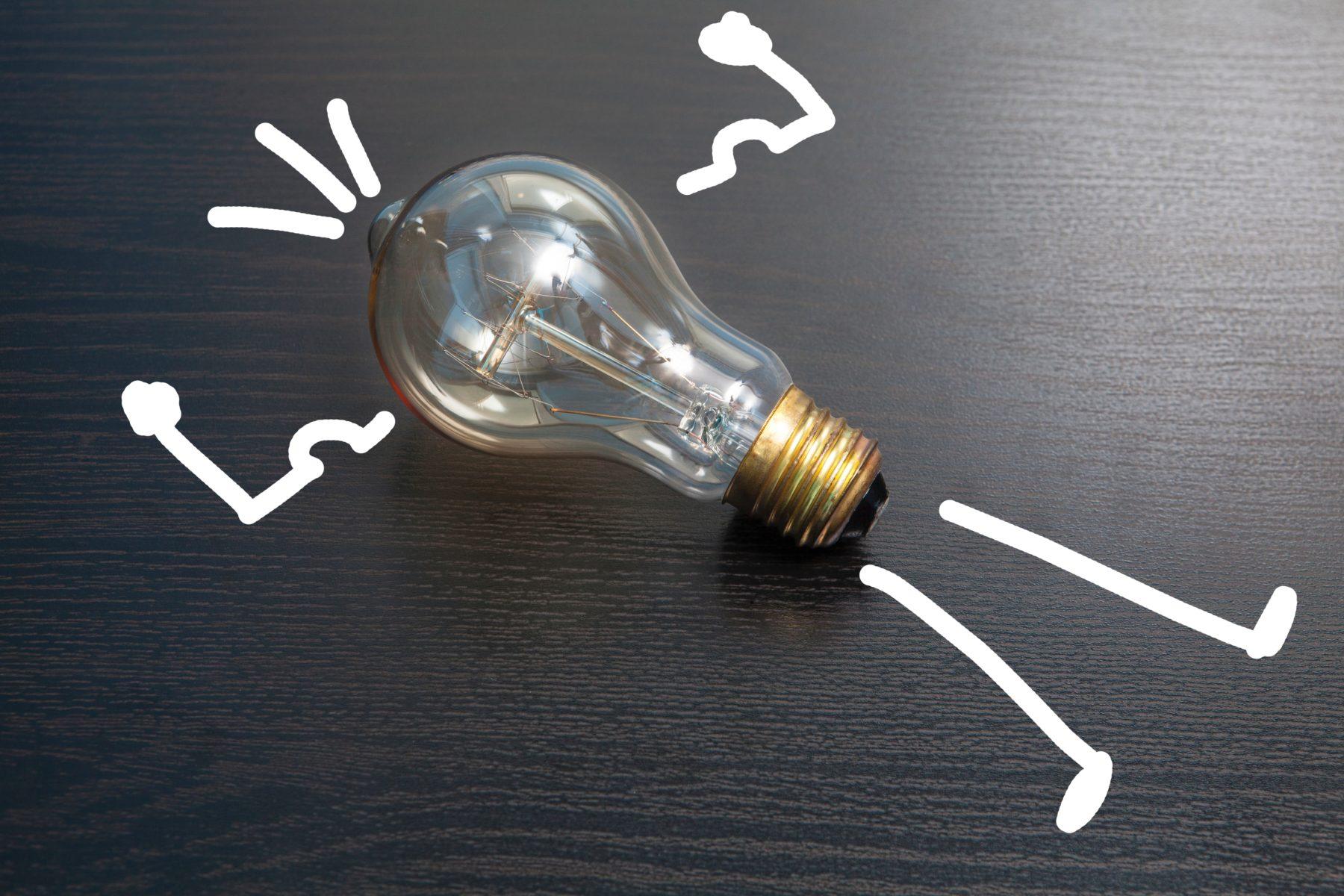 Idea Light Bulb Frank Vessia