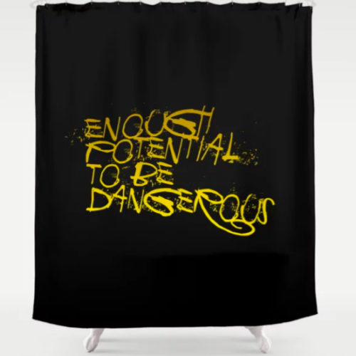 SHOWER CURTAIN ENOUGH POTENTIAL